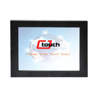 Square screen 12.1 Inch Industrial Touch Screen LCD Monitor, POS touch screen monitor, Medical touch screen monitor
