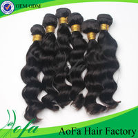 One donor young girl Body wave hair extension No shedding No tangle Language Option French Virgin Brazilian Human Hair