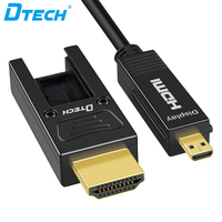 Detachable Connector YUV 4:4:4 18.2 Gbps Cable 3D 4k 60HZ Hdmi Fiber Optic Cable