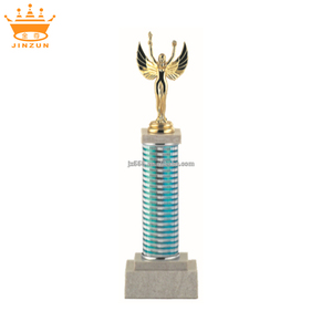 Beautiful Design metal gold plate sport Elegant Goldness Trophy