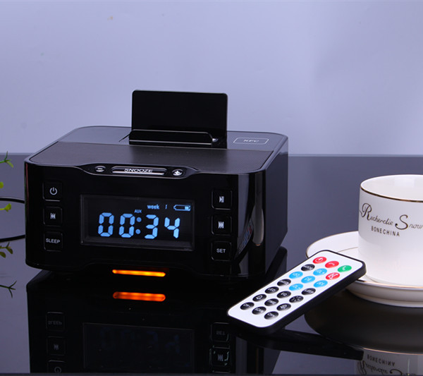 Docking Station Bluetooth Radio Speaker Phone Charger And Alarm ...