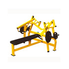 Gym equipment commercial fitness iso-lateral horizontal chest press