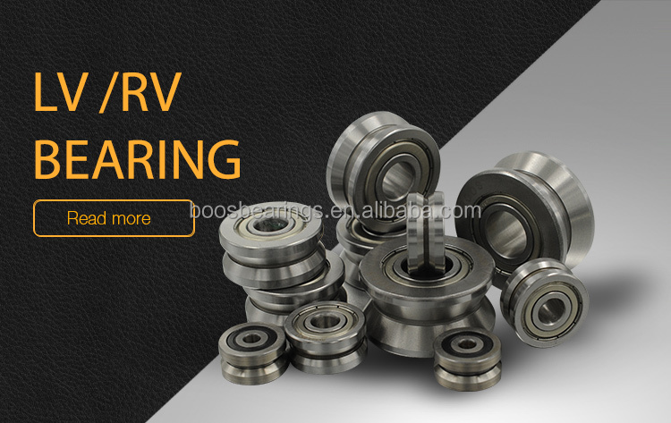 LV 202-41 v groove wheel bearing linear guide bearing