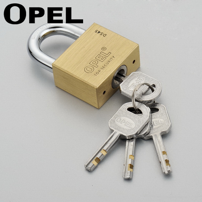 40mm High Security Heavy Duty Arc Shape Solid Brass Copper Weather Proof Brass Padlock