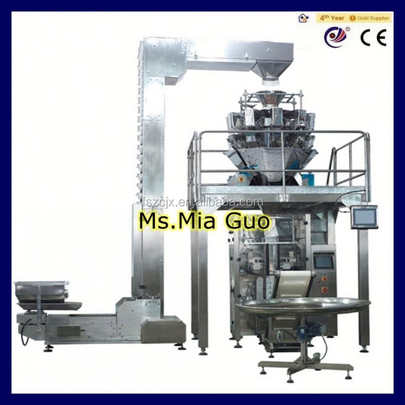 spices powder packing machine for can, tin, jar etc