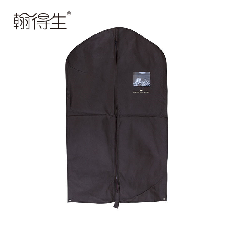 Recyclable feature hotel foldable garment bag