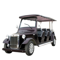 48v Motor 8 Seats 4 KW Tourist Vehicles For resort