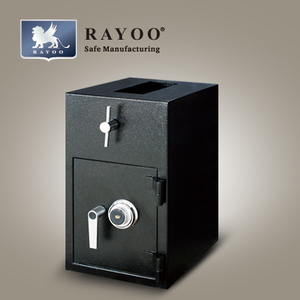 Small Size Double Door Safe Deposit box for bank use with three drawers