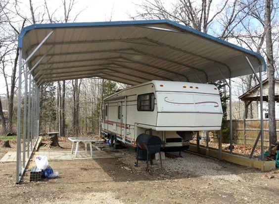 Wholesale 6x9x3m Large Carport Prefab Car Barn Gable Roof