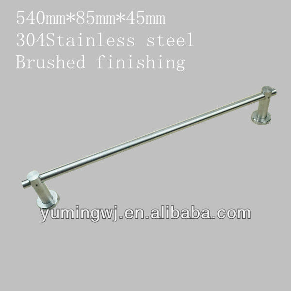 Individual design 304 stainless steel towel bar in brushed finishing