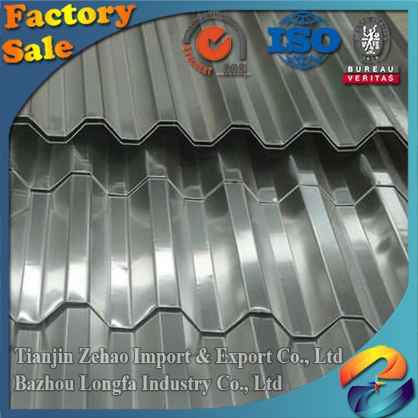 3003 h14 Corrugated aluminum roofing sheet