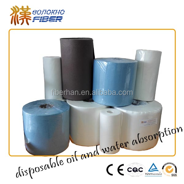 Laminated Cellulose nonwoven fabric cleaning wipes Industrial cleaning wipes