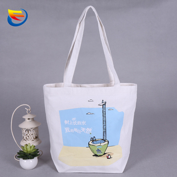 Color printing character joker canvas bag Advertising cotton cloth bag order receive shopping bag custom samples