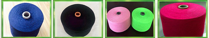 Eco friendly 80% cotton 20% polyester low tpi sock yarn manufacturer in thailand