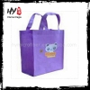 promotional promotional front pocket nonwoven shopping tote bag, nonwoven felt shopping bag