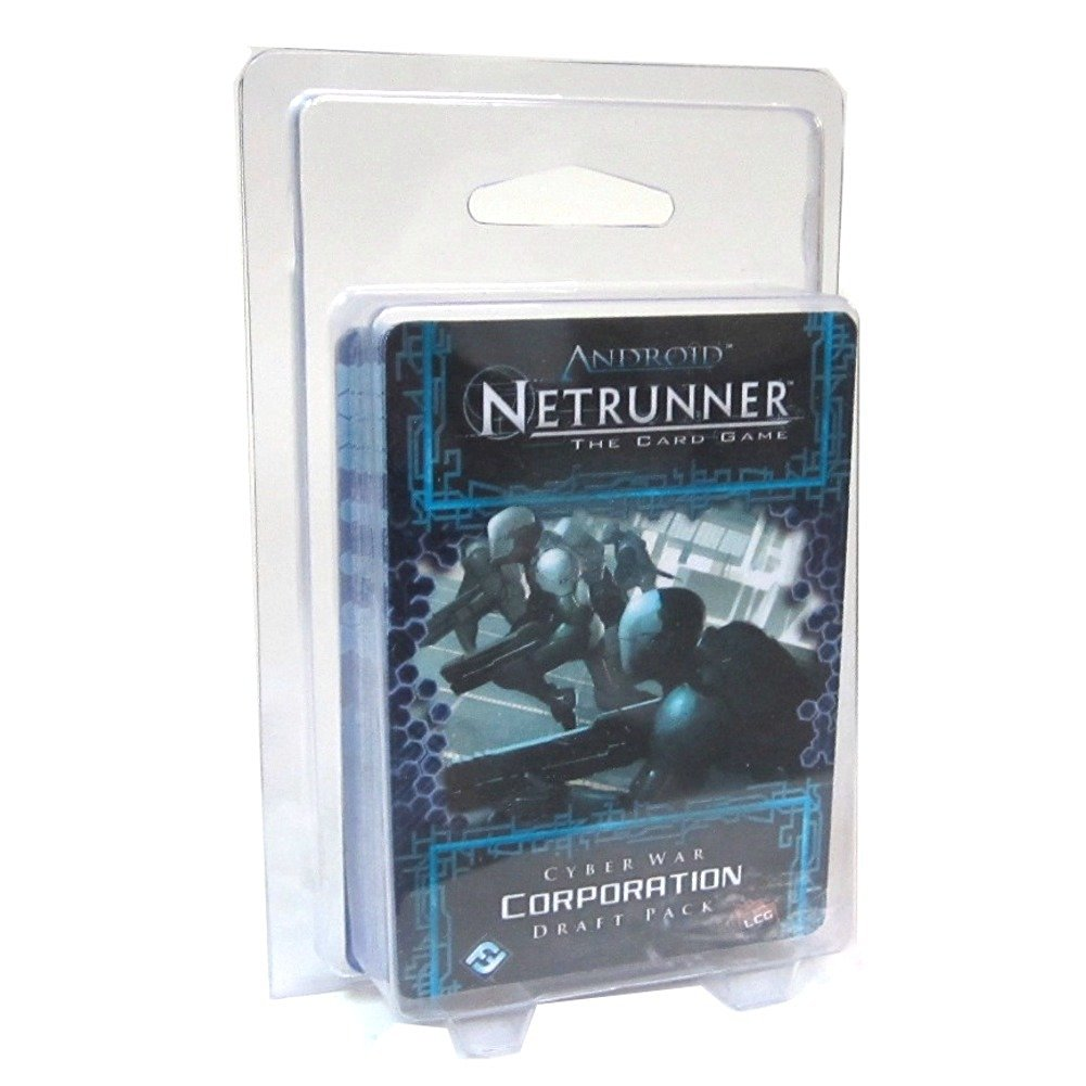 Cyber War Corporation Android Netrunner LCG Draft Pack
