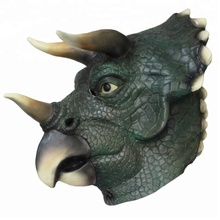 HUIZHOU Hot sale Props Toys DIY Costume Latex Dinosaur Head mask For Women Carnival Party