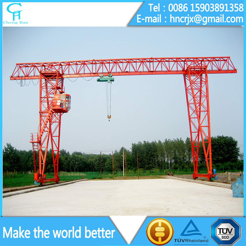 Single beam motor driven traveling gantry crane 5 ton 10 ton 20 ton