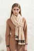 Hot selling turkey big size twill giraffe print scarf with low price