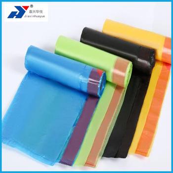 1f2a608b32 Couleur personnalisée super fort Jetable PE sac en plastique Poubelle en  polyéthylène cordon sacs poubelle pour