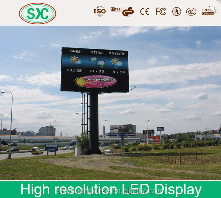 Environment-friendly tri-color led board display purchase