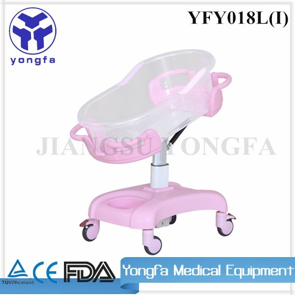 YFY018L Kids Bedroom medical Furniture New Born Baby Bed