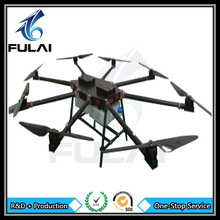 Carbon fiber frame 8axis 20kg rc agricultural spraying drone,flying uav drone crop sprayer