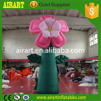 garden statues and ornaments Decoration inflatable flowers