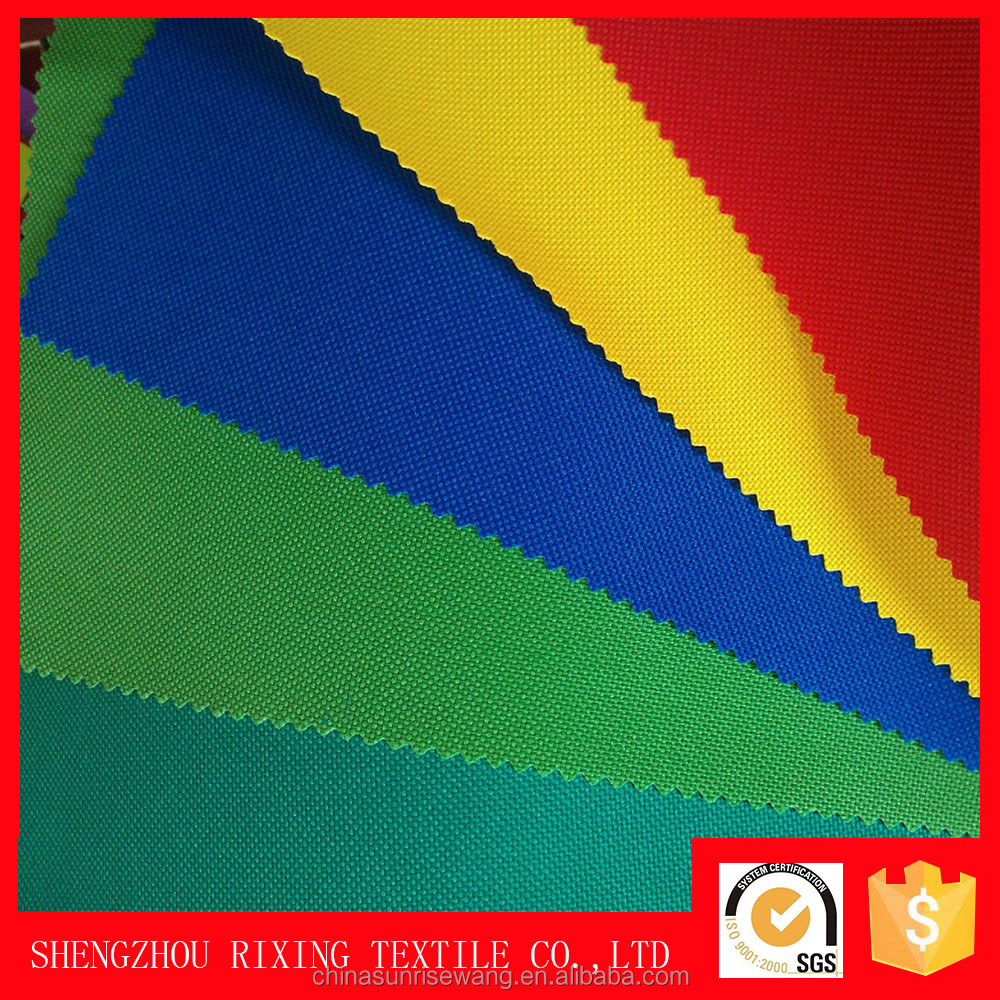 pu coated/waterproof polyester oxford fabric d600 for bag material