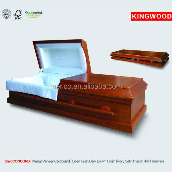 CONCORD jewish funeral cardboard coffin cremation paper casket