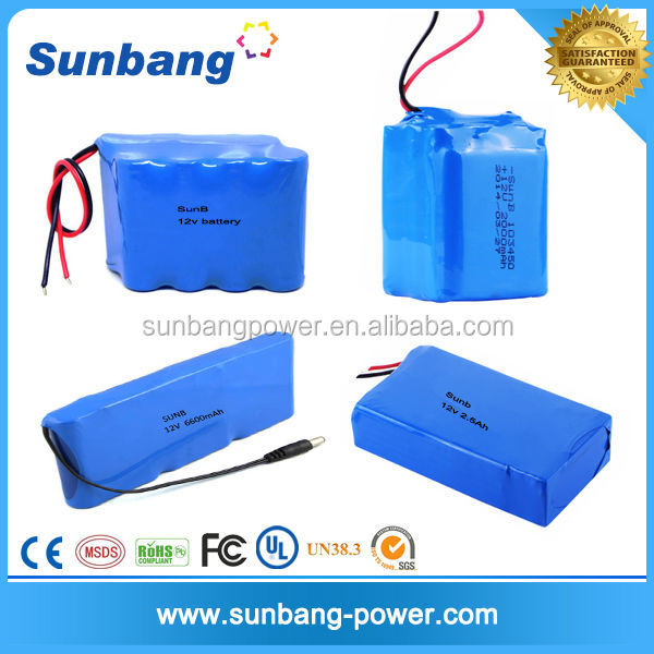 12 Volt Rechargeable Battery Pack For Battery Powered Led Rope ...