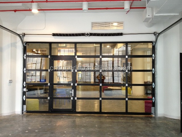 Sectional Aluminum Alloy Glass Garage Door Price Buy