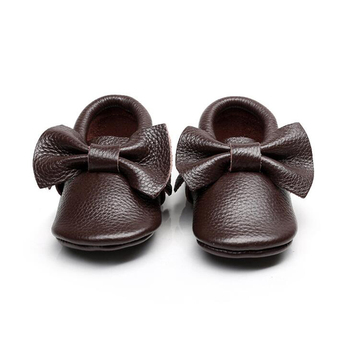 First Walkers Baby Moccasins Soft Leather Shoes Baby Prewalker Tassels Baby Kids shoes
