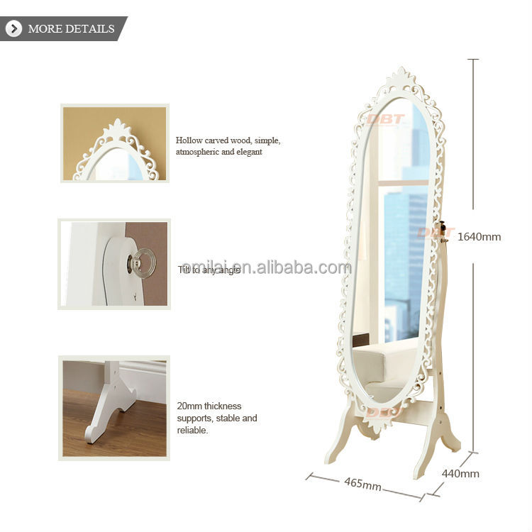 mdf schmuck schrank spiegel oval holzschrank produkt id 777690046. Black Bedroom Furniture Sets. Home Design Ideas