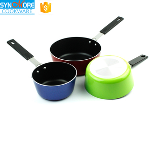 Different Size Non-stick Multifunction Cookware Set Milk Pan Ceramic Cooking Pot