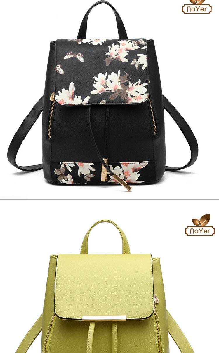 11797640de Hot selling China purses handbags online shopping ladies printed PU leather  backpack women