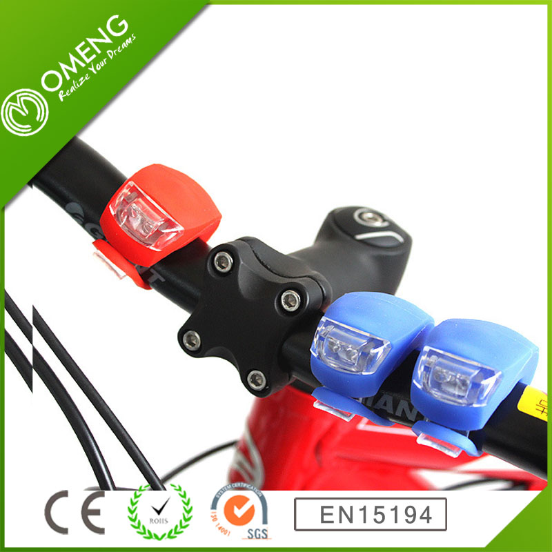 Bright Led Light Bicycle Rear Light SET 2 LED Bike Silicone Led Light