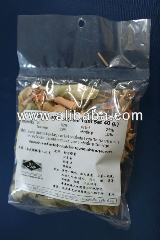 Dried Herbs Tom Yum Spices From Thailand