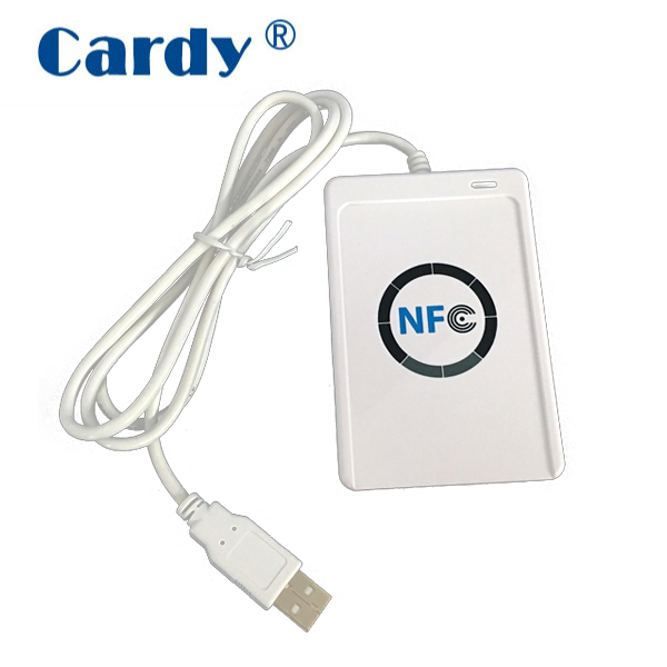 ACR122U NFC RFID Contactless Smart Lettore Scrittore Reader Writer USB Mifare