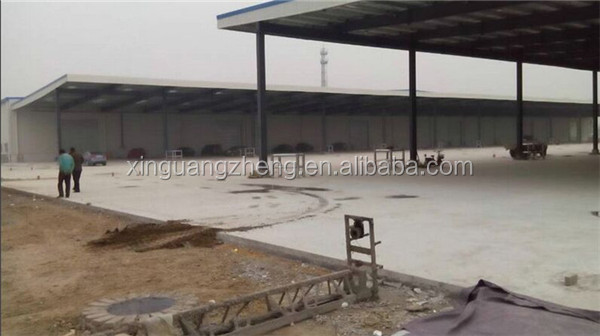 professional low cost multi span steel logistics warehouse
