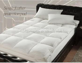 Super Soft Mattress Size Mattress With Goose Down Pillow Top Pad