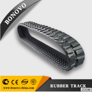 KOBELCO rubber track SK 027 300*109*40W for atv rubber track crawler for sale