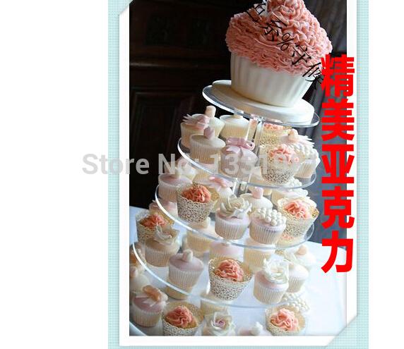Plexiglass Wedding Cake Stand