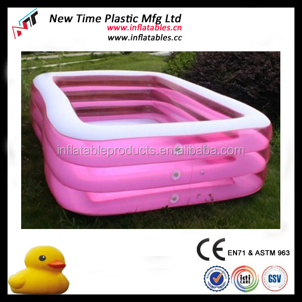 2018 Promotion inflatable pvc swimming pool hot selling inflatable water pool for children