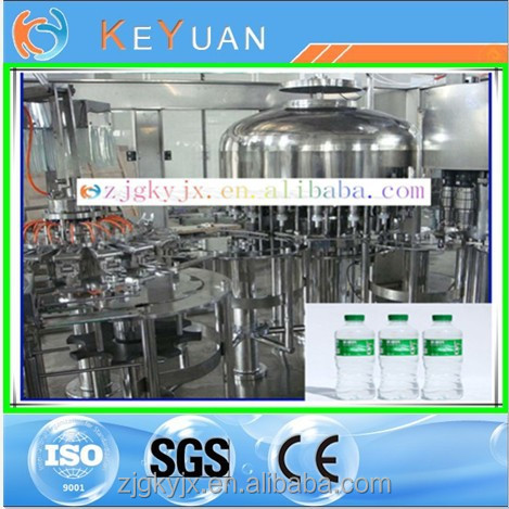 strong build for long life about automatic pure water filling machinery