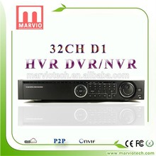 [Marvio HVR&DVR Series] video capture usb dvr abs plastic raw material 32 channel dvr factory directly