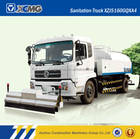 XCMG Official Manufacturer XZJ5160GQX high pressure cleaning vehicles