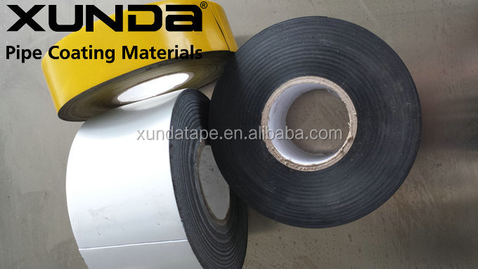 XUNDA cold pe tape flange joints cold wrapping adhesive tape for pipeline joints