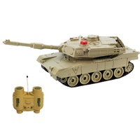 Funny RC Toys 1/32 Scale Tiger Tank RC Model Tank with IR Battle Function