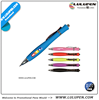 Hourglass Soft Touch Pen (Digitally Printed) (Lu-8601) bespoke pens custom made pens for business